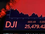 Die Angst vor einer Rezession bescherte an Börsen weltweit Verluste. (Bild: KEYSTONE/AP/RICHARD DREW)