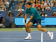 Lokalmatador Roger Federer führt das hochkarätige Feld der Swiss Indoors in Basel an (Bild: KEYSTONE/AP The Cincinnati Enquirer/SAM GREENE)