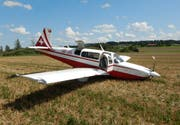 Die beiden Flugzeuginsassen kamen mit dem Schrecken davon. (Bild: Kapo TG)