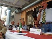 Valentin Landmann, Spitzenkandidat der Seniorenliste der SVP des Kantons Zürich. (Bild: att)