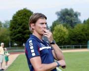 Pascal Nussbaumer will unter die ersten drei in der Rangliste. Bild: Werner Schelbert (Cham, 19. August 2018)