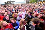Wie letztes Jahr erwarten die Veranstalter grosse Menschenmengen am Quai. (Bild: Donato Caspari)