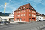 Der Gewerbepark «zur alten Weberei» ist in der Liegenschaft Meyer-Mayor in Neu St.Johann zu finden.Bild: Sabine Camedda