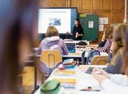 Am Kathi werden ausschliesslich Mädchen beschult. In Zukunft würden in der Schule auch Bubenklassen unterrichtet. Bild: Mareycke Frehner