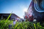 Auf dem Betrieb in Tänikon verfügt das BBZ Arenenberg auch künftig über «normal» bewirtschaftete Flächen. (Bild: Andrea Stalder)
