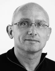 Beat Lanzendorfer, Redaktor Toggenburger Tagblatt. (Bild: Ralph Ribi)