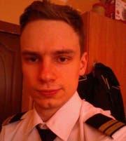 Copilot Georgy Murzin ist erst 23 Jahre alt. (Bild. Twitter)