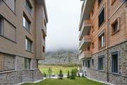 Apartmenthäuser des Resorts in Andermatt. (Bild: Christof Schürpf/Key)
