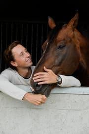 Liebt seine Pferde: Martin Fuchs. (Bilder: Donato Caspari)