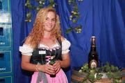 Als einzige Werdenbergerin darf Jeanine Gabathuler das Werdenberg am Finalabend auf der Wahlbühne vertreten. (Bild: PD)