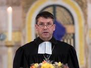 Gottfried Locher ist seit 2011 Präsident des Schweizerischen Evangelischen Kirchenbunds. (Bild: KEYSTONE/URS FLUEELER)