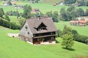 Im Geburtshaus von Ulrich Bräker befindet sich heute das «Näppis Beizli».