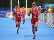 Sylvain Fridelance klassierte sich am olympischen Testevent in Tokio nur im 40. Rang (Bild: KEYSTONE/EPA/NEIL HALL)