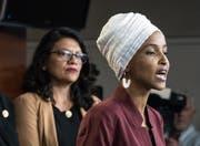 Bleibt zuhause in Amerika: die 36-jährige Demokratin Ilhan Omar. (Bild: Keystone)