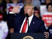 «Wir werden das Recht auf Selbstverteidigung immer aufrechterhalten»: US-Präsident Donald Trump. (Bild: KEYSTONE/AP/ELISE AMENDOLA)