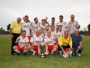 Das diesjährige Siegerteam, der FC des Grossen Rates Wallis. (Bild: Erich Brassel)
