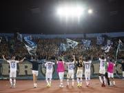 Der FC Zürich und seine Fans sind im Schweizer Cup nicht immer ein gern gesehener Gast (Bild: KEYSTONE/ENNIO LEANZA)
