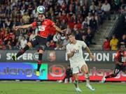 Romain Del Castillo trifft mit dem Kopf zum 2:1 (Bild: KEYSTONE/AP/DAVID VINCENT)