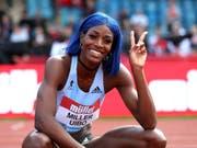 Shaunae Miller-Uibo von den Bahamas siegt in Birmingham über 200 m und wird auch in Zürich zu sehen sein (Bild: KEYSTONE/AP PA/DAVID DAVIES)