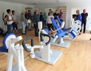 Der Fitnessraum für die Bewohner ist ein wichtiges Angebot.
