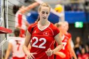 Die am Freitag beginnende EM ist ihr Karrierehöhepunkt: Die Wartauer Volleyballerin Samira Sulser. (Bild: Ulf Schiller)