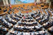 Der Kanton St.Gallen hat Anspruch auf zwölf Sitze im Nationalrat. (KEYSTONE/Anthony Anex)