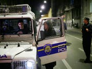 Die kroatische Polizei sucht nach einem Sechsfachmord am Donnerstagabend in der Hauptstadt Zagreb nach dem Täter. (Bild: KEYSTONE/AP/FILIP HORVAT)