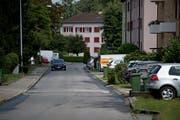 Die Emanuel-Müller-Strasse in Kriens erinnert an einen Heerführer aus dem Sonderbundskrieg. (Bilder Corinne Glanzmann, 2. August 2019)
