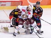 Goran Bezina verlässt Genève-Servette und wechselt in die Swiss League zum HC Sierre (Bild: KEYSTONE/ALESSANDRO DELLA VALLE)