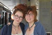 Johanna und Letizia Weber, Hemberg (Bild: Natascha Arsic)