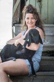 Andrea Brühlmann liegen ihre Tiere sehr am Herzen. (Bild: Andrea Stalder)
