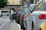 Die Parkraumbewirtschaftung in der Stadt Luzern soll optimiert werden. (Bild: Dominik Wunderli)