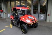 Das Patrouillenfahrzeug der FFZ wird am Esaf unterwegs sein. (Bild: PD)