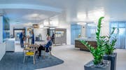Ist nach dem neuen Konzept umgebaut worden: LUKB-Filiale in Schüpfheim. (Bild: PD)