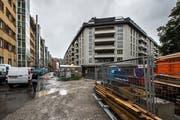 Die Überbauung der ABL Genossenschaft beim Himmelrich in der Stadt Luzern. (Bild: Dominik Wunderli (20. August 2019))