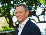 Spielt zum fünften Mal die Rolle des britischen Geheimagenten James Bond: Schauspieler Daniel Craig. (Bild: KEYSTONE/AP/LEO HUDSON)