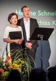 Lieder aus dem Ensemble der Staatsoper Stuttgart: Helene Schneiderman (Mezzosopran) und Matthias Klink (Tenor).