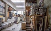 In der Werkstatt des Luzerner Theaters wird pro Jahr unter anderem 120 Kilo Holzleim verarbeitet. (Bild: Pius Amrein, Luzern, 20. August 2019)