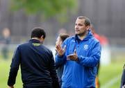Alberto Rodriguez, Trainer des FC Baar. (Bild: Stefan Kaiser, Baar, 18. Juni 2019)