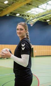 Martina Pavic, die neue Spielerin des LC Brühl, in der Kreuzbleiche.Bild: Adriana Ortiz Cardozo.