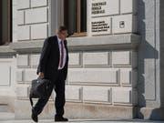 Das Bundesgericht hat die bedingte Geldstrafe für den ehemaligen KPMG-Revisor Daniel Senn bestätigt. (Bild: KEYSTONE/TI-PRESS/ALESSANDRO CRINARI)