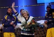 2008 in einer SRF-Sendung. (Bild: Keystone)