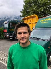 Projektleiter Peter Wipfli von der Flüeler Firma Wipfli Transporte hat hat den Seiltransport von Romanshorn nach Grindelwald organisiert. (Bild: PD)