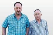 Edwin Kopp (rechts) wurde wie sein Sohn sexueller Handlungen mit Kindern beschuldigt. (Bild: Gert Bruderer)