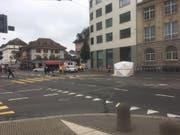 Die Baselstrasse in diesem Abschnitt ist zurzeit gesperrt. (Bild: zvg)