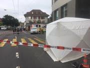 Die Unfallstelle beim Kasernenplatz. (Bild: zvg)