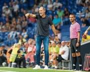 Energischer Thomas Häberli: Die Talfahrt mit dem FCL soll in Sion aufgehalten werden. (Bild: Martin Meienberger/Freshfocus, Barcelona, 15. August 2019)