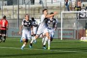 Der FC Wil erspielt sich ein 2:0. (Bild: Gianluca Lombardi)