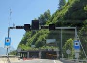 Im Seelisbergtunnel kommt es zu verkehrlichen Einschränkungen. (Archivbild: Luzerner Zeitung)