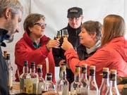 Whisky degustieren: Gleich vier Whiskyzelte sind auf dem Geländeplan eingezeichnet. (Bild: Hanspeter Schiess - 2. September 2017)